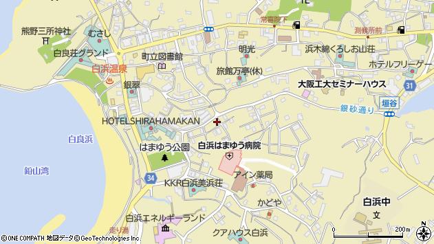〒649-2211 和歌山県西牟婁郡白浜町(次に番地がくる場合)の地図