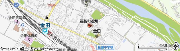 福岡県田川郡福智町周辺の地図