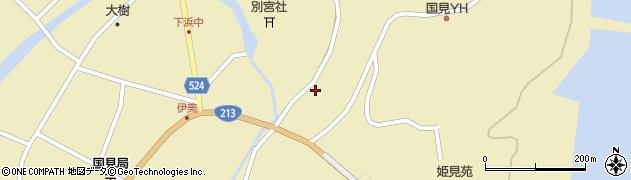 大分県国東市国見町伊美3576周辺の地図