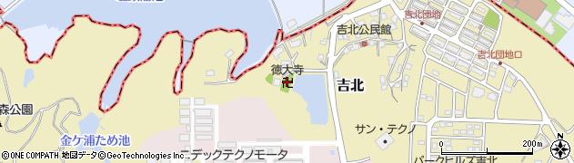 徳大寺周辺の地図