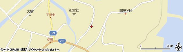 大分県国東市国見町伊美3583周辺の地図