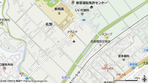 〒647-0071 和歌山県新宮市佐野の地図