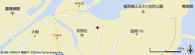 大分県国東市国見町伊美4301周辺の地図