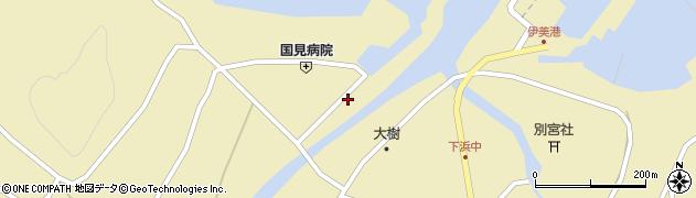大分県国東市国見町伊美2006周辺の地図