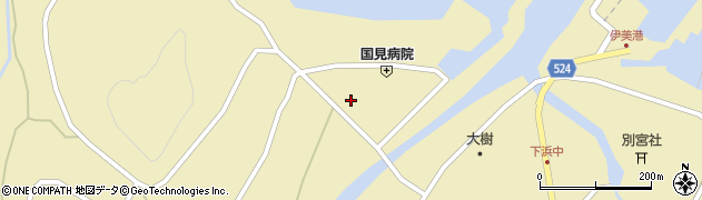 大分県国東市国見町伊美1949周辺の地図
