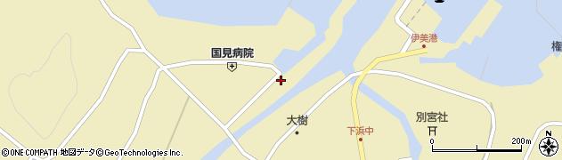 大分県国東市国見町伊美1993周辺の地図