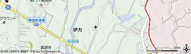 福岡県福智町(田川郡)伊方周辺の地図