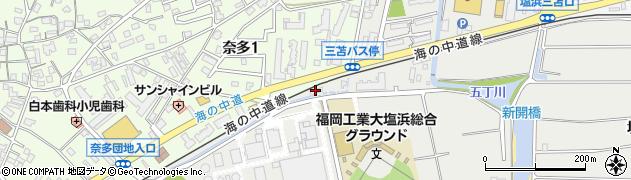 有限会社ナカビシ周辺の地図