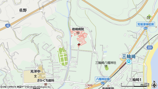 〒647-0061 和歌山県新宮市三輪崎の地図