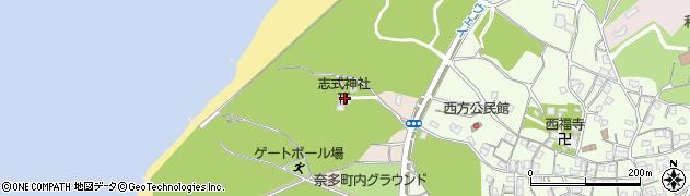 志式神社周辺の地図