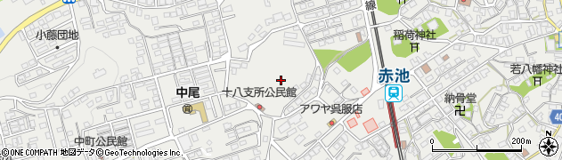 福岡県福智町(田川郡)赤池周辺の地図