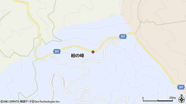 〒791-1705 愛媛県上浮穴郡久万高原町相の峰の地図