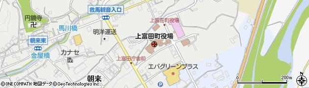 和歌山県上富田町(西牟婁郡)周辺の地図