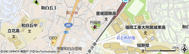 円相寺周辺の地図