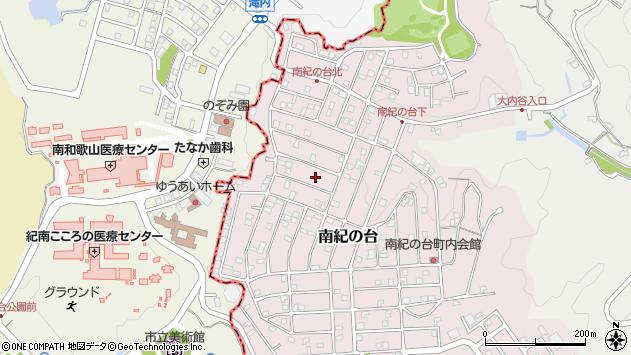 〒649-2106 和歌山県西牟婁郡上富田町南紀の台の地図