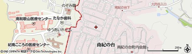 和歌山県上富田町(西牟婁郡)南紀の台周辺の地図