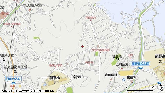 〒649-2105 和歌山県西牟婁郡上富田町朝来の地図