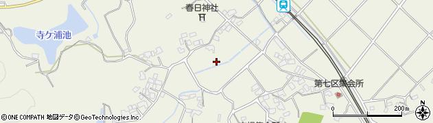 福岡県福智町(田川郡)市場周辺の地図