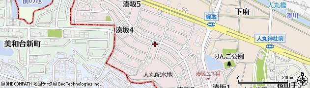 福岡県糟屋郡新宮町湊坂周辺の地図