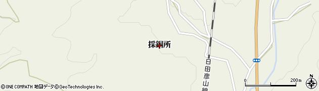 福岡県香春町(田川郡)採銅所周辺の地図