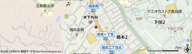 カラオケボックス一丁目周辺の地図