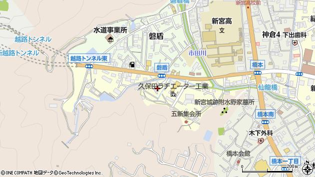 〒647-0053 和歌山県新宮市五新の地図