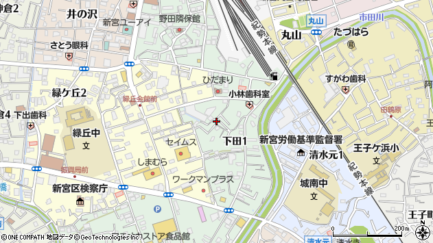 〒647-0042 和歌山県新宮市下田の地図