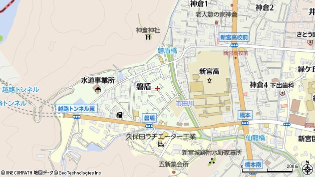 〒647-0051 和歌山県新宮市磐盾の地図