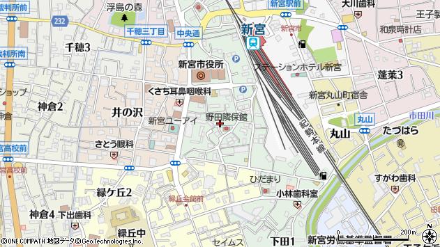 〒647-0041 和歌山県新宮市野田の地図