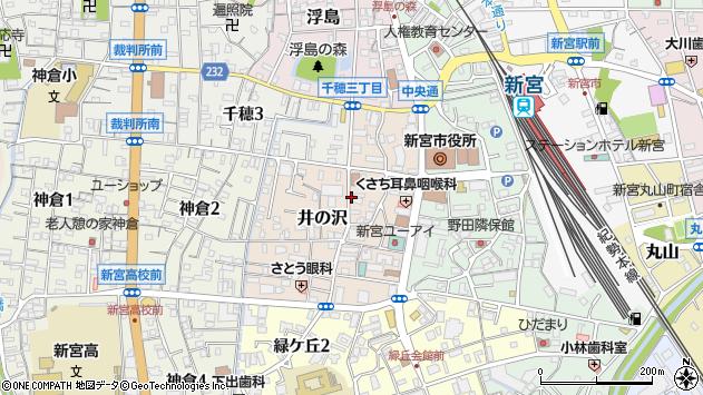〒647-0045 和歌山県新宮市井の沢の地図