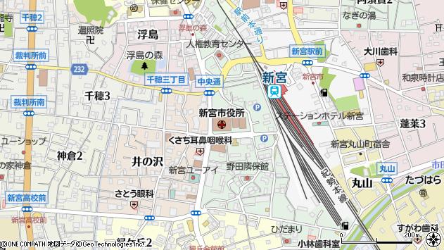 〒647-0000 和歌山県新宮市(以下に掲載がない場合)の地図
