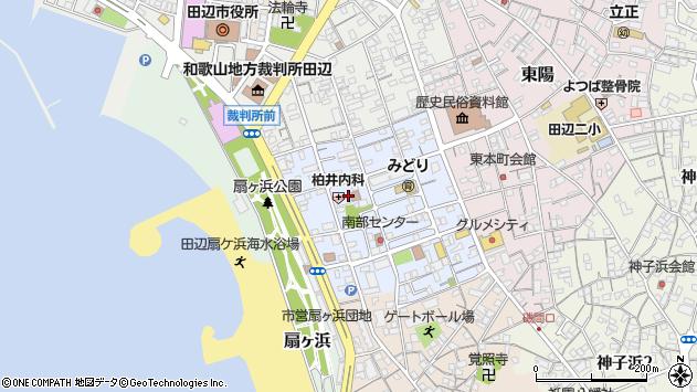 〒646-0038 和歌山県田辺市末広町の地図