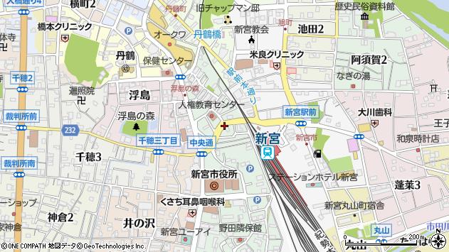 〒647-0013 和歌山県新宮市春日の地図