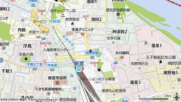 〒647-0020 和歌山県新宮市徐福の地図