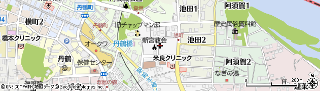 和歌山県新宮市伊佐田町周辺の地図
