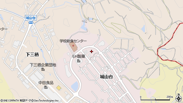 〒646-0217 和歌山県田辺市城山台の地図