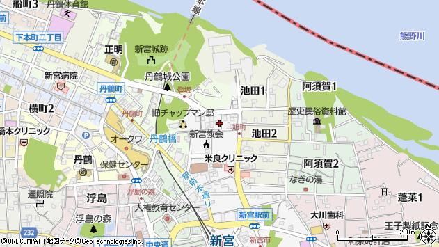 〒647-0012 和歌山県新宮市伊佐田町の地図