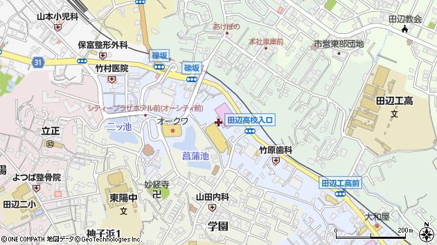 〒646-0022 和歌山県田辺市東山の地図