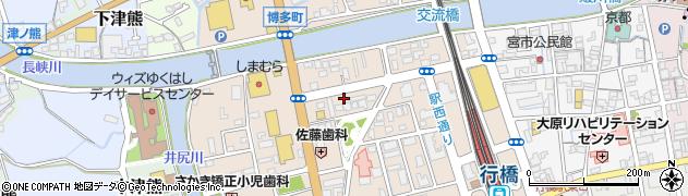 あさがお薬局周辺の地図