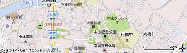 大橋神社周辺の地図