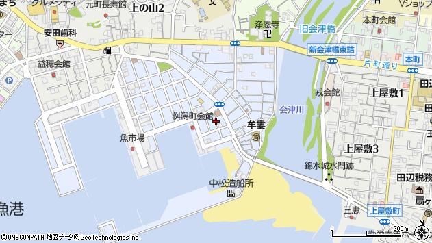 〒646-0054 和歌山県田辺市江川の地図