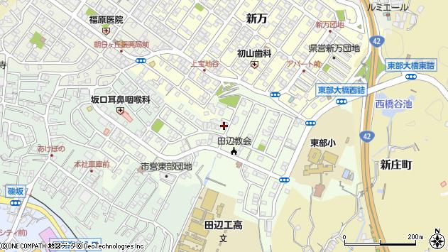 〒646-0013 和歌山県田辺市南新万の地図