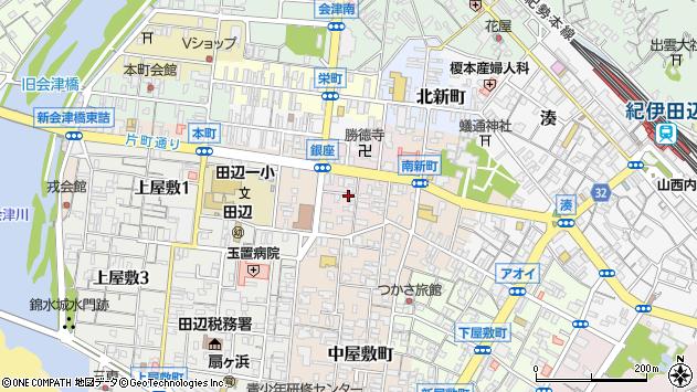 〒646-0043 和歌山県田辺市今福町の地図