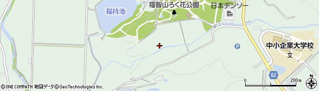 福岡県直方市永満寺周辺の地図