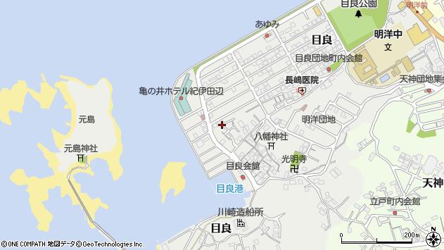 〒646-0058 和歌山県田辺市目良の地図