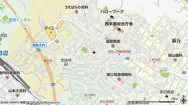 〒646-0027 和歌山県田辺市朝日ヶ丘の地図