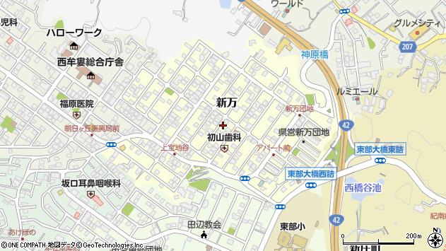 〒646-0014 和歌山県田辺市新万の地図