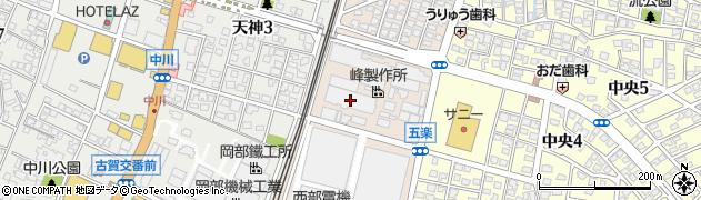 株式会社峰製作所 福岡支店工事課周辺の地図