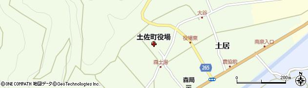高知県土佐郡土佐町周辺の地図