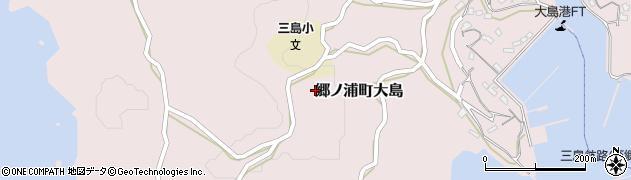 長崎県壱岐市郷ノ浦町大島周辺の地図